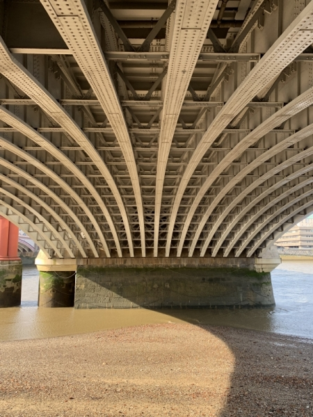 Under Waterloo Bridge