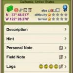iPhone with Geosphere App