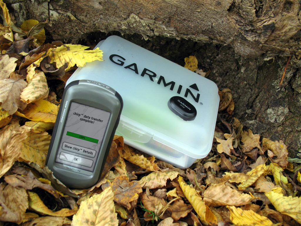 Garmin Chirp for Geocaching