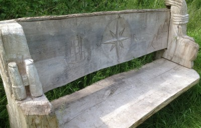 Geocaching Bench