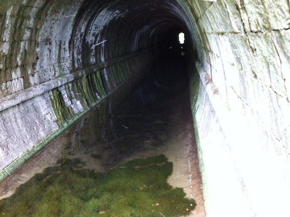 Tunnel Geocache