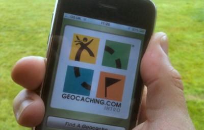 Geocaching-Phone-App